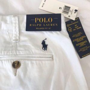 Polo Ralph Lauren shorts white